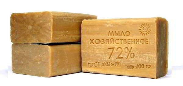 Лечение суставов хозяйственным мылом