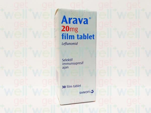 Арава в таблетках