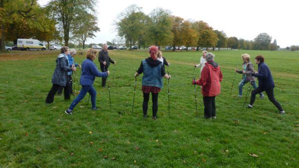 Скандинавская ходьба при ревматоидном артрите