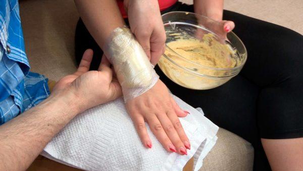 Компресс из картошки на коленный сустав
