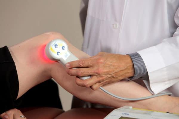 Лазеротерапия при гонартрозе