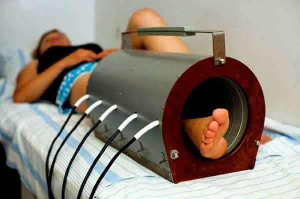 Изображение - Супрапателлярный бурсит коленного сустава лечение magnitoterapiya-600x399