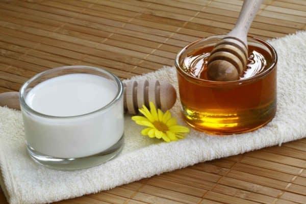 Медово-молочный напиток