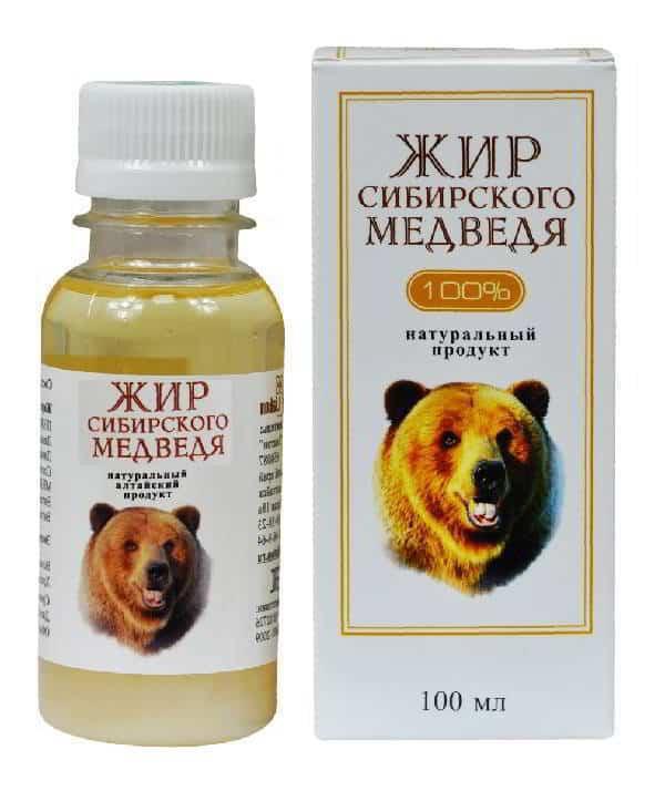 Медвежий жир для суставов