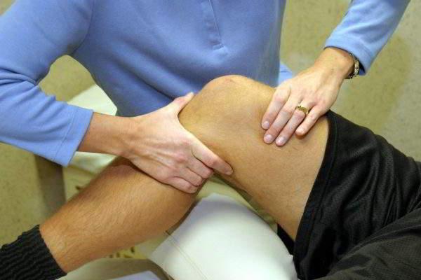 обследование колена