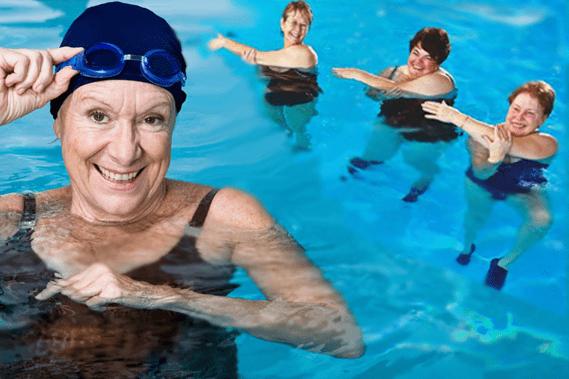 Плавание, аэробика - упражнения при артрите