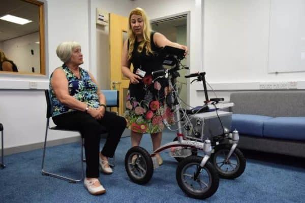 Роботизированные ходунки для реабилитации