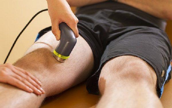 УВЧ терапия коленного сустава