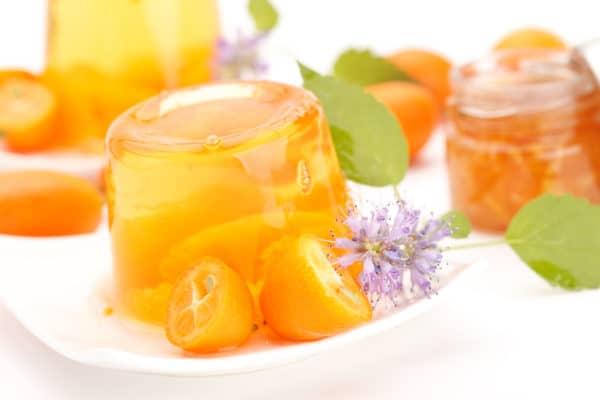 Желе с апельсиновым соком