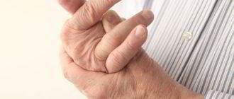 Жидкость в суставах кистей рук