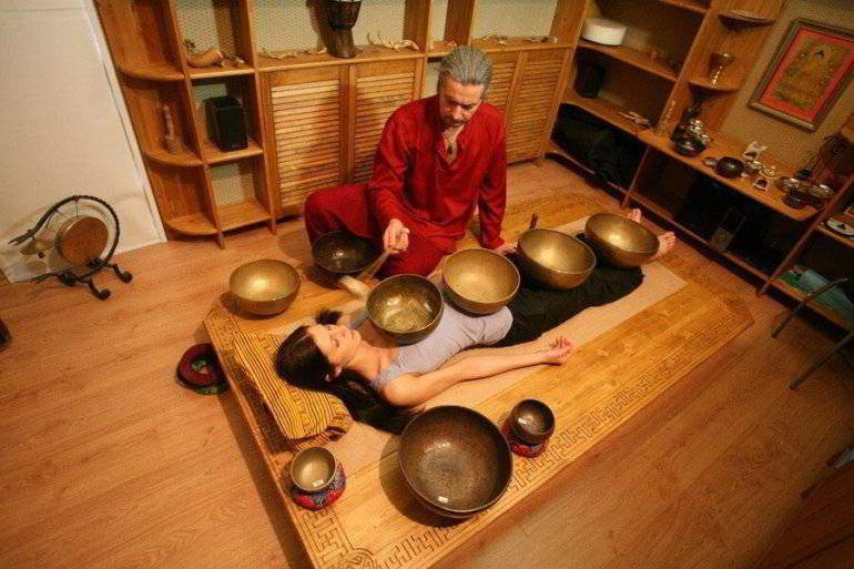 звуковой массаж